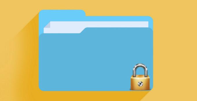 Cara Mengunci Folder di Windows Tanpa Aplikasi