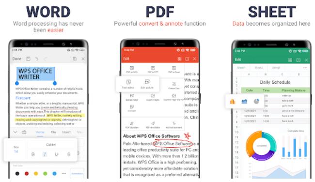 Download WPS Office Premium MOD APK